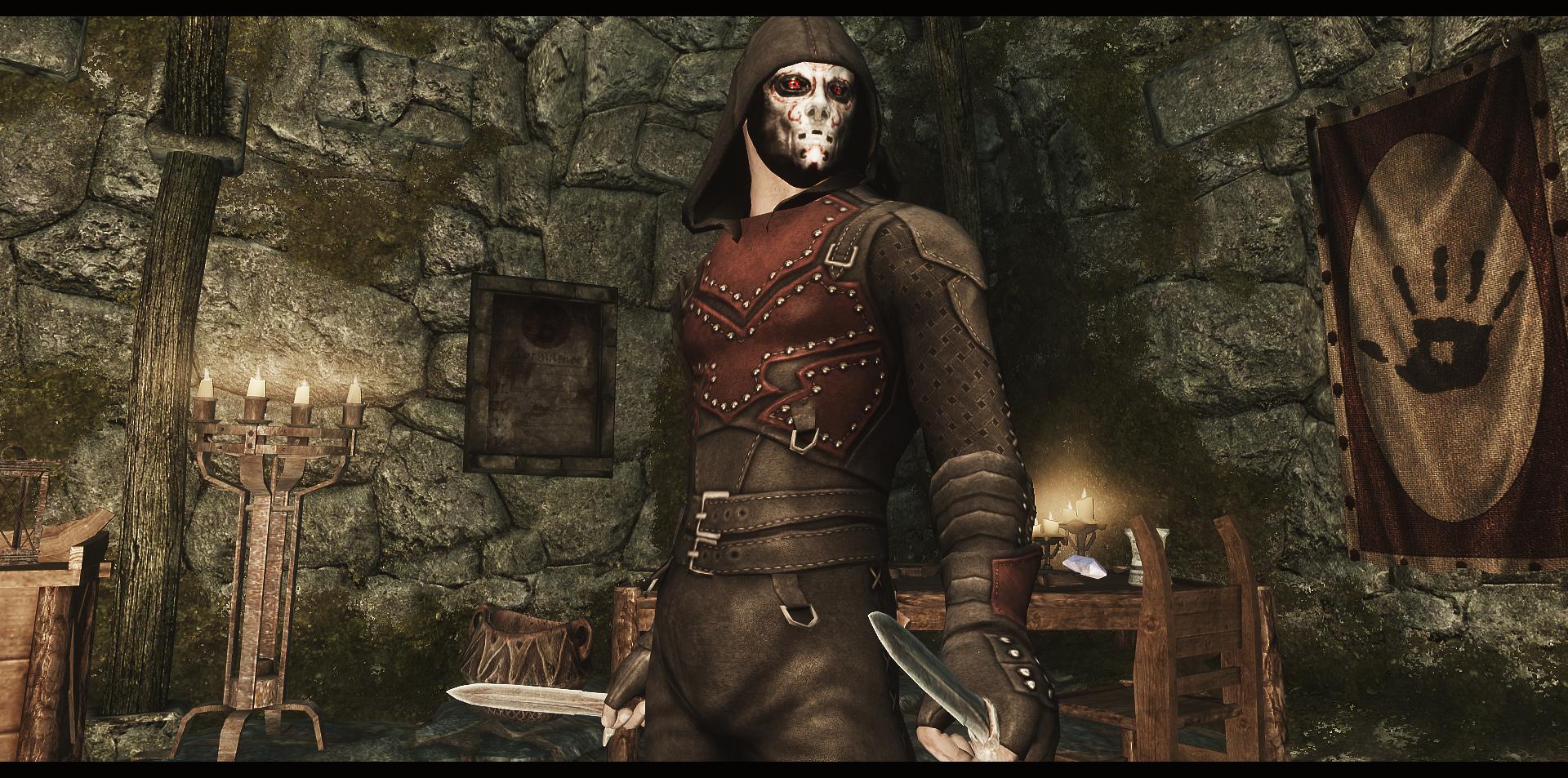 Моды на Скайрим Броня Темного Братства