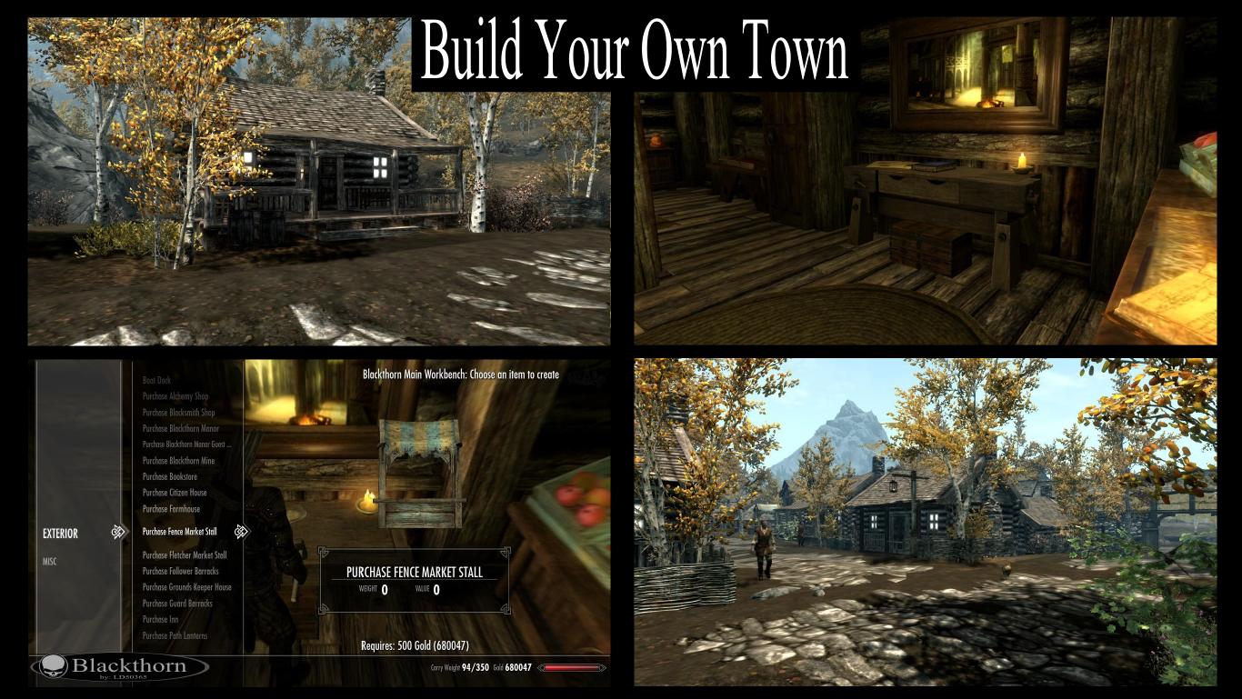 Skyrim Se Build Your Own City