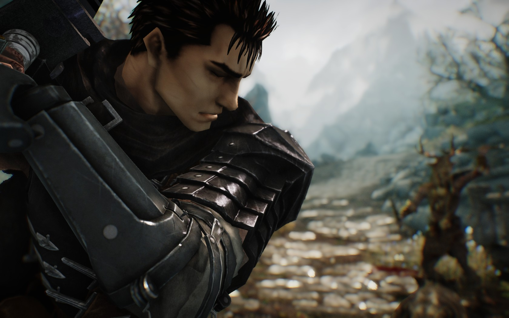 Berserk Black Swordsman Armor Mod Dragonslayer Sword Mod