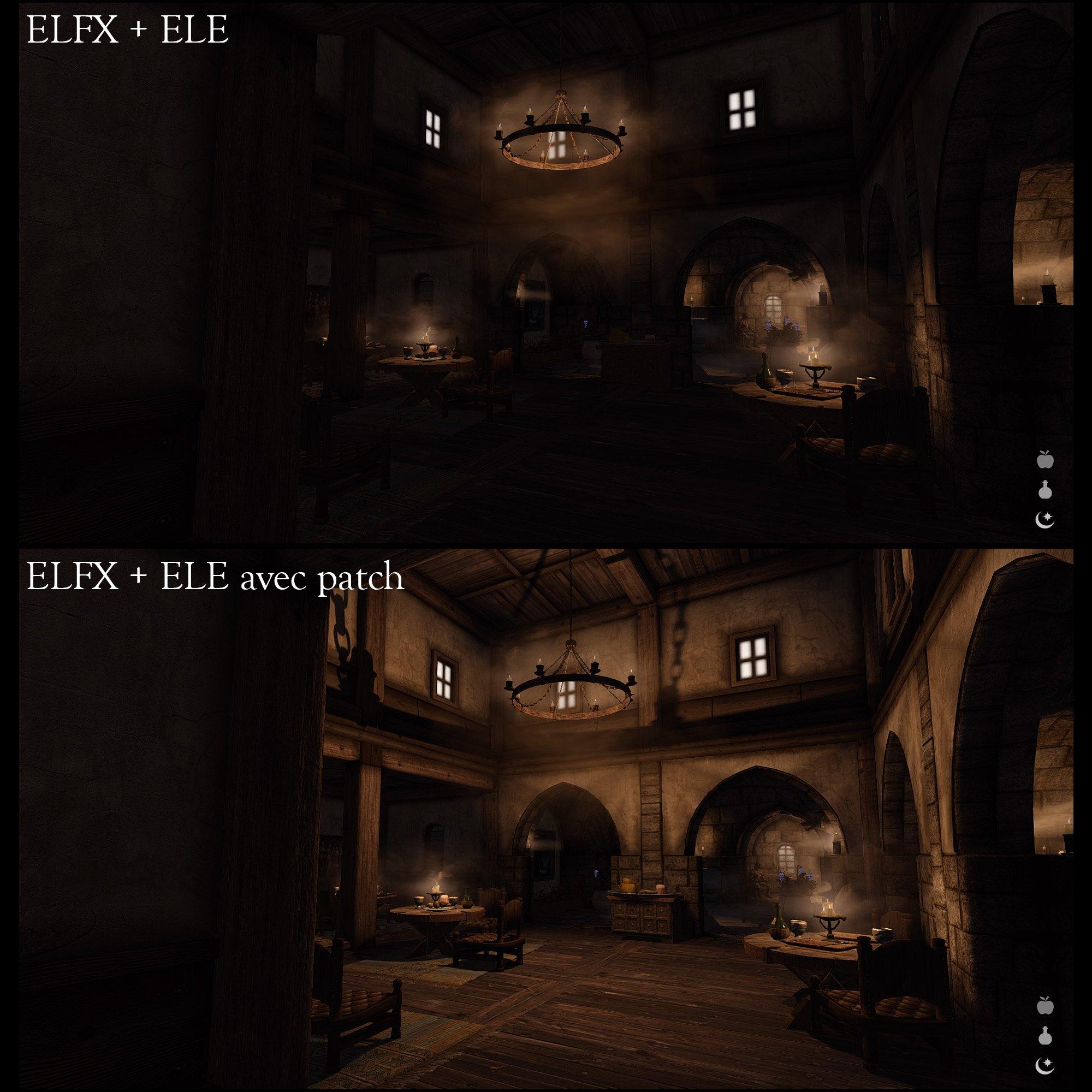 Ajustements et corrections pour ELE-ELFX - La Confrérie des