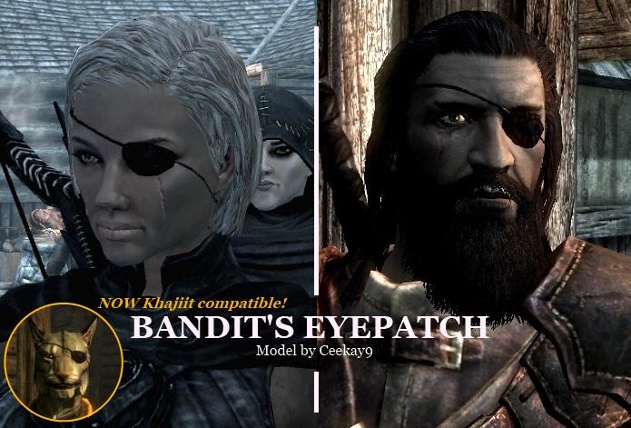 Пиратская повязка для глаз